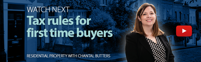 Tax Rules for First Time Buyers