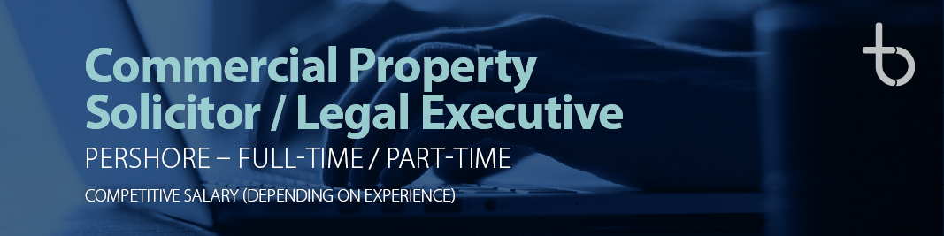 Commercial Property Solicitor / Legal Executive