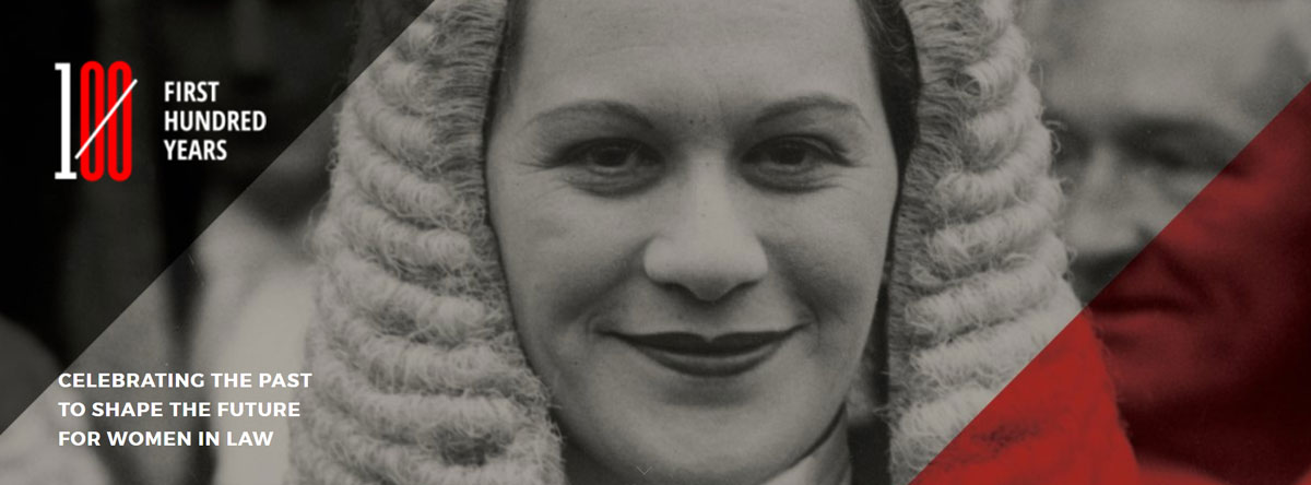 CELEBRATING THE PAST TO SHAPE THE FUTURE FOR WOMEN IN LAW